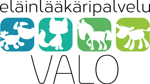 Eläinlääkäripalvelu Valo logo